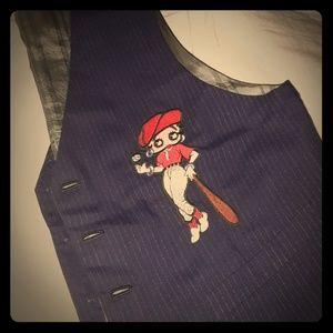 Vtg Betty Boob baseball vest